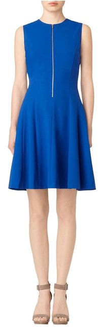 Preload https://item1.tradesy.com/images/calvin-klein-blue-regatta-zip-front-fit-and-flare-knee-length-workoffice-dress-size-4-s-2937040-0-0.jpg?width=400&height=650