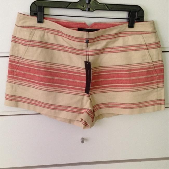 BCBGMAXAZRIA Mini/Short Shorts multi red