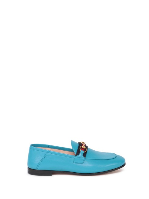 Item - Blue Loafer with Web Formal Shoes Size EU 38 (Approx. US 8) Regular (M, B)