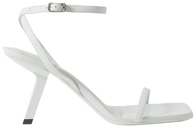 Item - White Void Leather Sandals Size EU 40 (Approx. US 10) Regular (M, B)