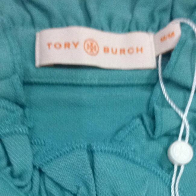 Tory Burch Lidia Polo Ruffled Polo Polo Summer Button Down Shirt waterfront