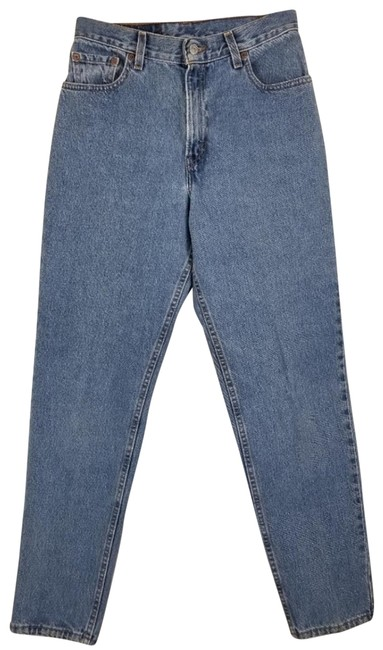 Item - Blue Medium Wash Vintage 505 Tapered High Rise Relaxed Fit Jeans Size 32 (8, M)