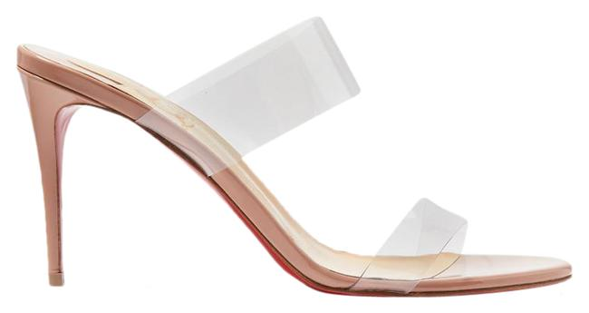 Item - Just Nothing 85 Pvc and Patent-leather Mules Sandals Size EU 38 (Approx. US 8) Regular (M, B)