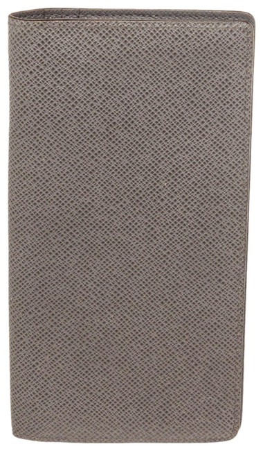 Item - Gray Brazza Leather Wallet