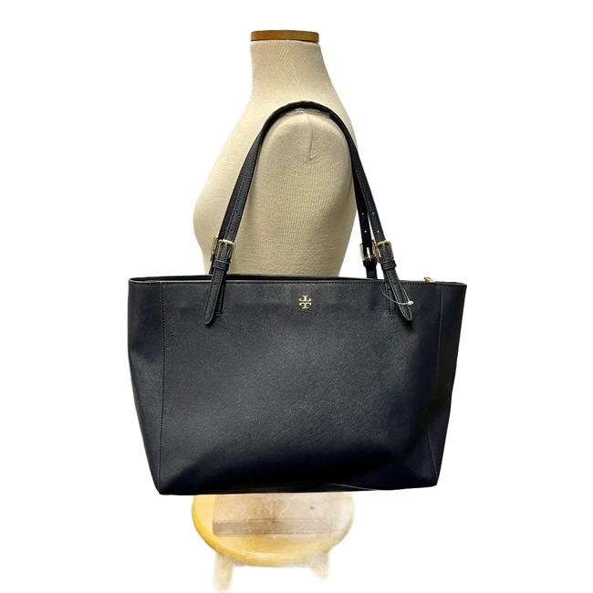 Item - York Blue Leather Tote