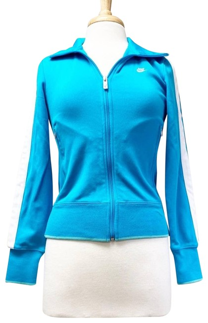 Item - Blue Sport Track Small Activewear Outerwear Size 4 (S)