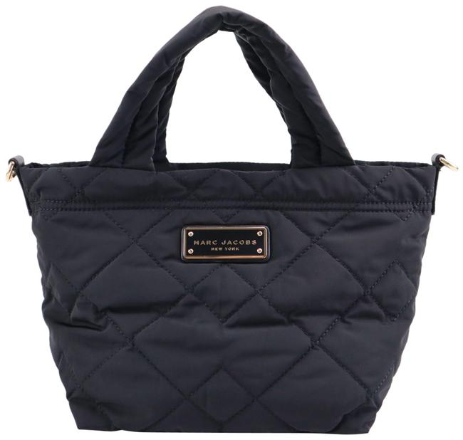 Item - Quilted Nylon Crosby Black Polyester Tote