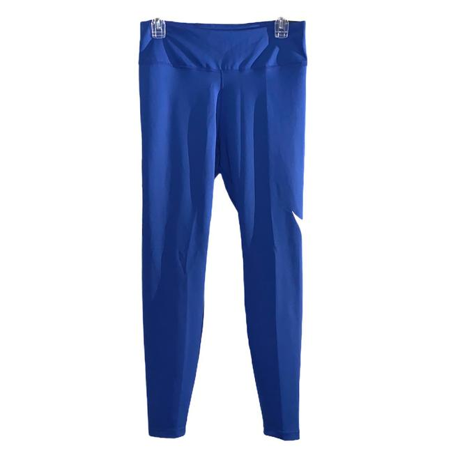 Item - Blue Women's Mid-rise 7/8 Running Tights Activewear Bottoms Size 12 (L)