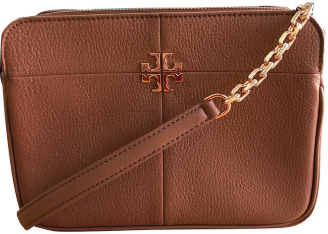 Item - Ivy Brown Pebbled Leather Cross Body Bag