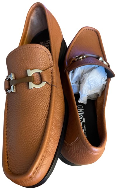 Item - Cuoio Pebble Calf Grandioso 0690449 Formal Shoes Size US 9.5 Extra Wide (Ww, Ee)