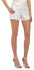 Kensie Shorts Metallic Silver