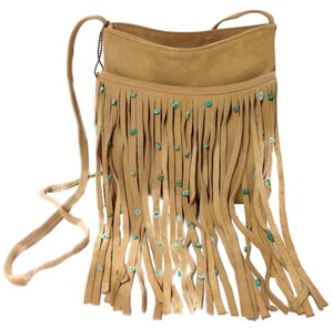 Paradox Leather Fringed Rock Shoulder Bag