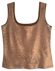 Darjoni Top Copper sequins