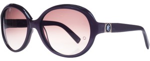 Montblanc Mont Blanc Purple Oversized Square Sunglasses