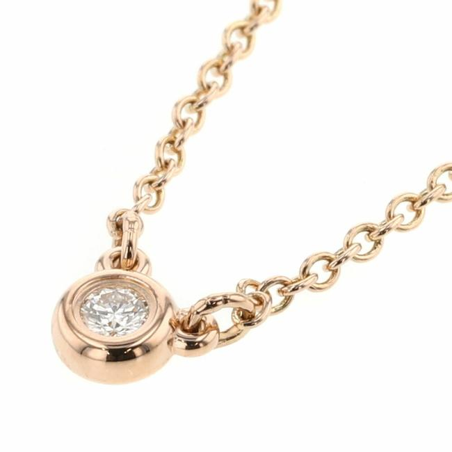 Item - Pink Gold The Yard 1p Approx. 0.03ct K18 Diamond Ladies Necklace