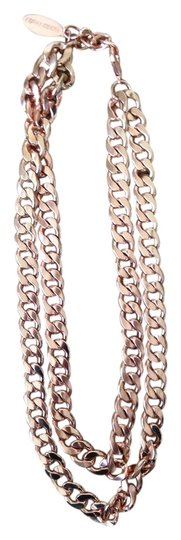 BaubleBar Bauble Bar Double Chain Rose Gold Necklace