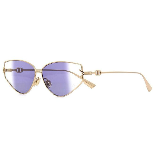 Item - Gold Frame & With Violet Fade Lens Women gipsy7 Sunglasses