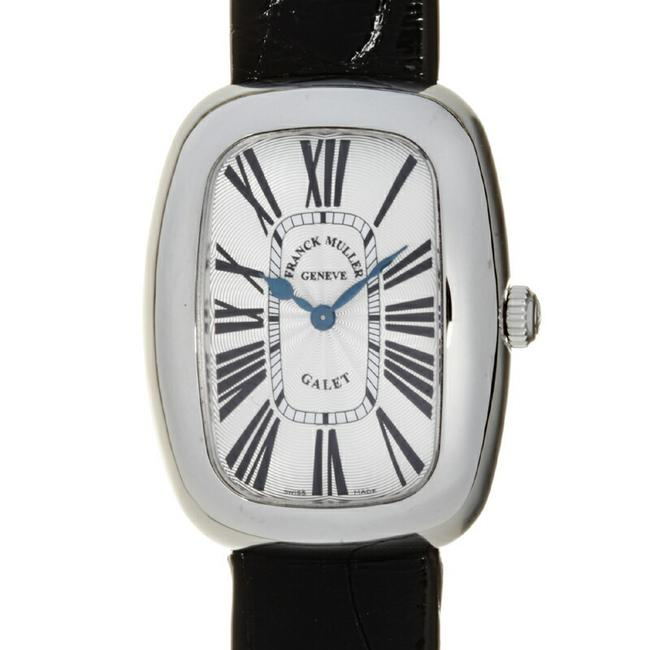 Item - Roman Galle Ladies 3002lqz Stainless Steel Silver Guilloche Dial Watch