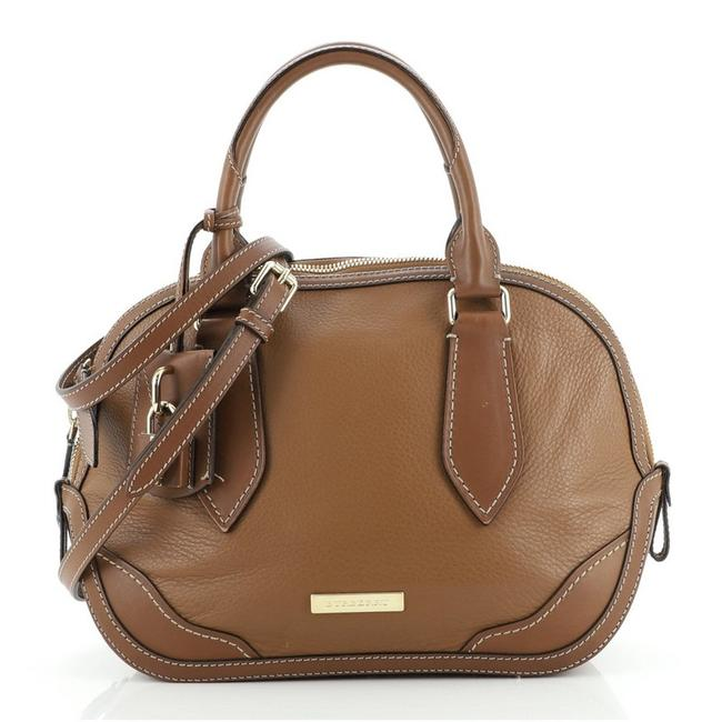 Item - Orchard Heritage Grained Small Brown Leather Satchel