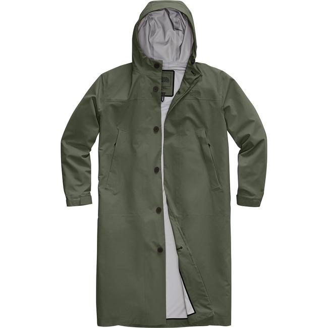 Item - Taupe Green (Nwt) Traverse Sport Hooded Trench Coat Activewear Size 10 (M)