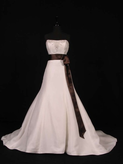 Chocolate Brown Ribbon Sash