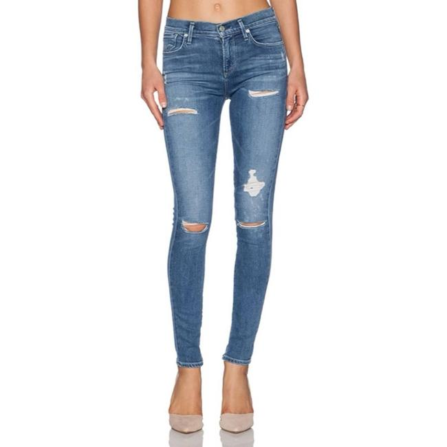 Item - Blue Cannes E Sophie High Rise In Skinny Jeans Size 24 (0, XS)