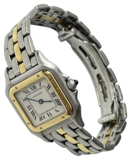 Item - Steel Panthere Gold Watch