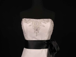 Black Ribbon Sash 2 3/4