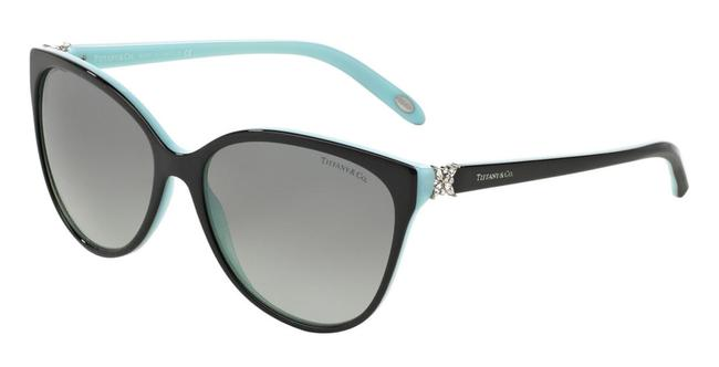 Item - Black and Blue Tf4089-b 8055/T3 58mm Butterfly Oversized Sunglasses