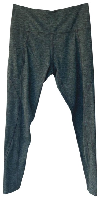 Item - Green Women's Gray Space Dye Ankle Guc Small. Activewear Bottoms Size 6 (S, 28)