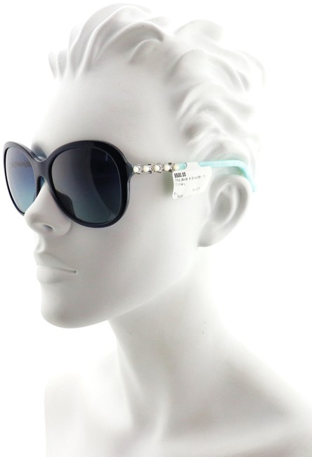 Item - Blue Tf4104-h-b 8191/4u 58mm Polarized Butterfly Pearl Collection Italy Sunglasses