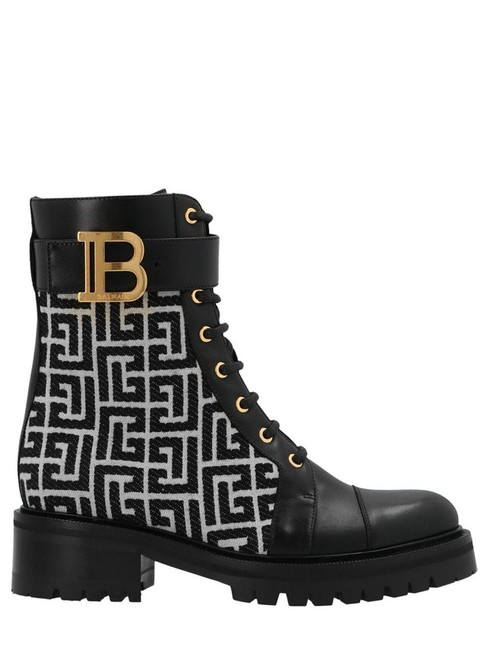 Item - Black/Ivory Bicolor Jacquard Ranger Romy Ankle Boots/Booties Size EU 38 (Approx. US 8) Regular (M, B)