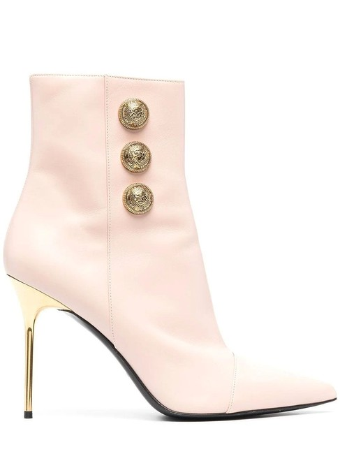 Item - Beige Roni Leather Ankle Boots/Booties Size EU 40 (Approx. US 10) Regular (M, B)