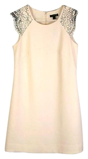 Item - Cream Mid-length Night Out Dress Size 2 (XS)