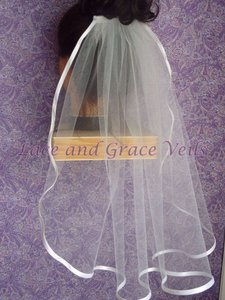 Lace And Grace Veils Ballet Wedding Veil (42-48