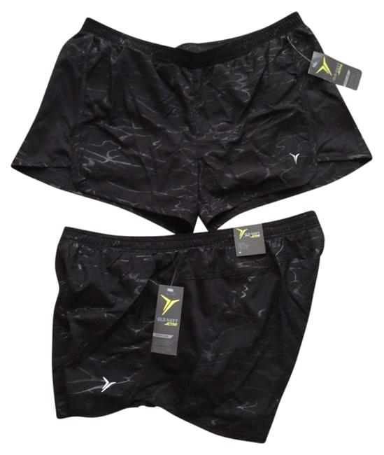 Old Navy Old Nave Performance Activewear Shorts X 2 BRAND NEW WITH TAGS Back Print 3.5 inch Size Small