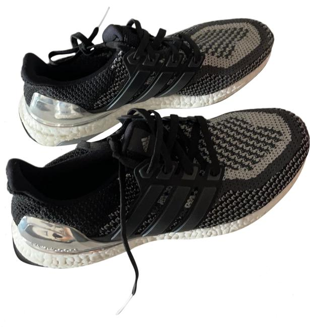 Item - Black and Silver Ultra Boost Sneakers Size US 8.5 Regular (M, B)