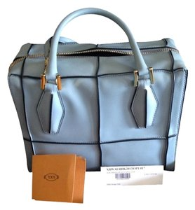 Tod's Satchel in Baby Blue