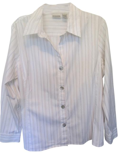 Preload https://img-static.tradesy.com/item/2939095/chico-s-white-with-stripes-none-blouse-size-16-xl-plus-0x-0-0-650-650.jpg