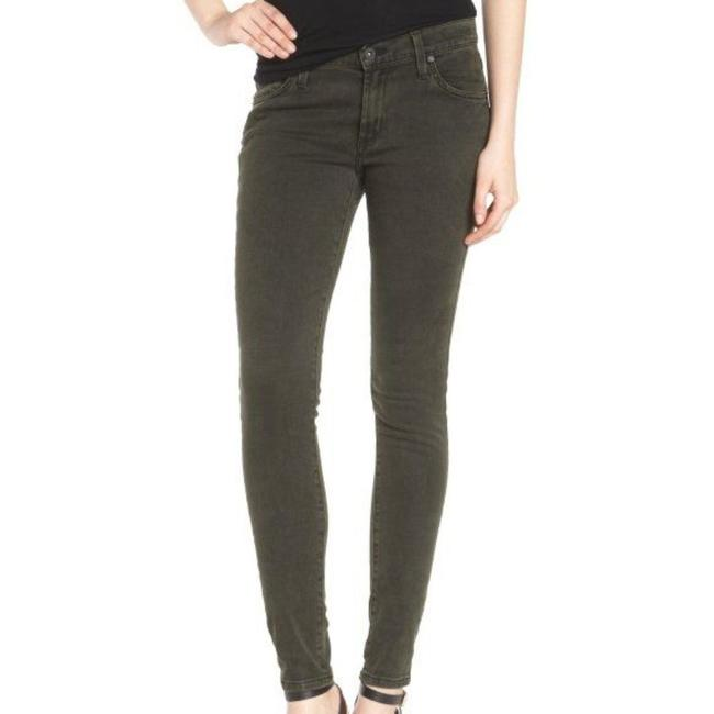Item - Gray Medium Wash Twiggy In Willow Slate Jeggings Size 28 (4, S)