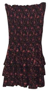 Betsey Johnson short dress Black/pink/green on Tradesy