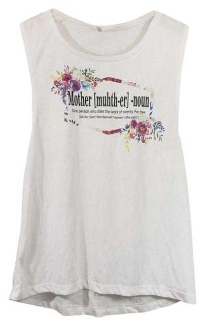 Item - Mother Funny Fake Definition Tank Top/Cami Size 8 (M)