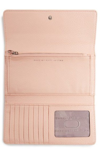 Marc by Marc Jacobs Marc By Marc Jacobs Light Pink Large Wallet New With Tags Image 5