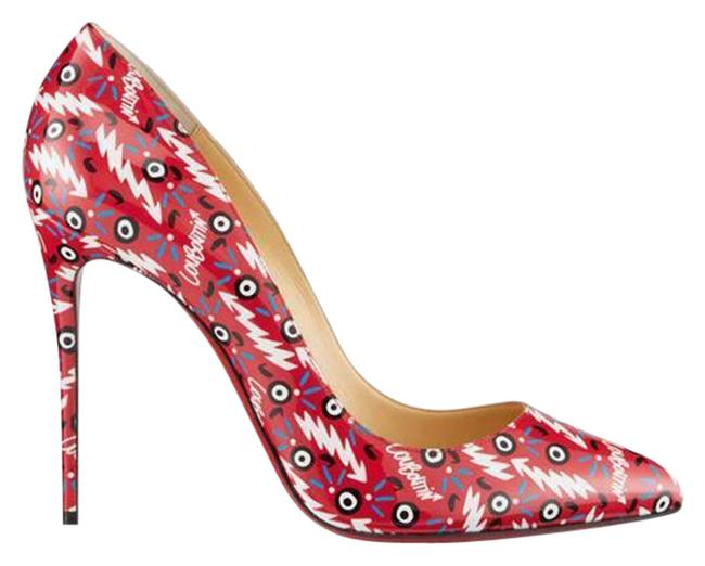 Item - Multicolor Pigalle Follies 100 Patent Leather Ginzana Pumps Size EU 41 (Approx. US 11) Regular (M, B)