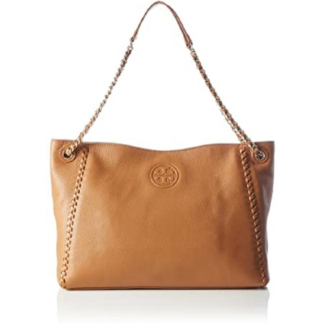 Item - Marion Chain Shoulder Slouchy Bark Leather Tote
