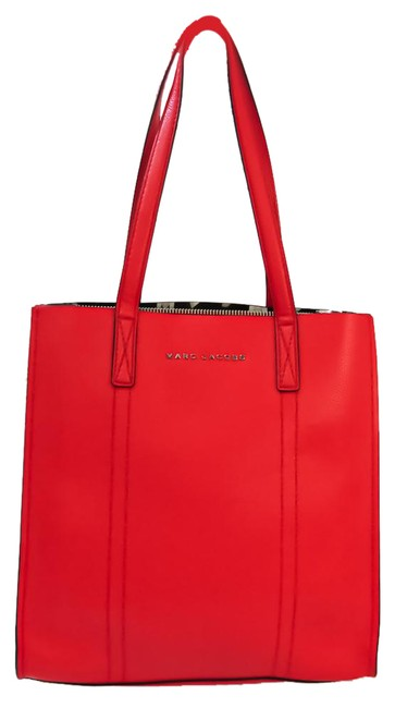 Item - Bag Repeat M0014788 Women's Red Color Leather Tote