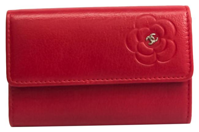 Item - Red Color Case Women's Leather Coin Purse/Coin Case Wallet