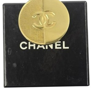 Chanel [ENTERPRISE] CC Shield Brooch Logo Pin CCTLM10