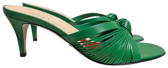 Item - Green Crawford Knotted Leather Sandals Size EU 39 (Approx. US 9) Regular (M, B)