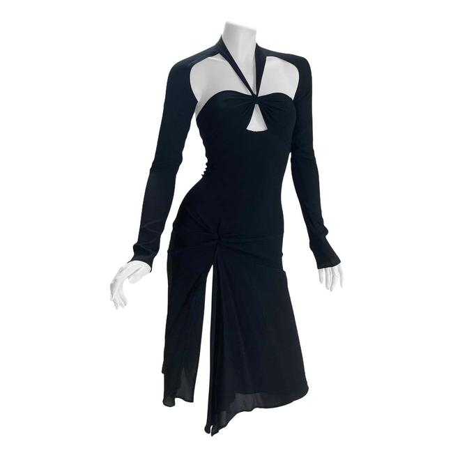Item - Black Vintage Tom Ford For Mid-length Night Out Dress Size 4 (S)